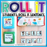 Roll a Sentence for the YEAR- Sentence Practice for Kinder
