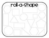 Roll-a-Shape 2d Shape Drawing
