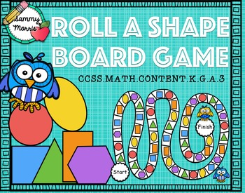 Roll a Shape Board Game