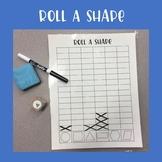 Roll a Shape Math Game
