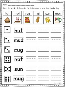 Roll-a-Short Vowel