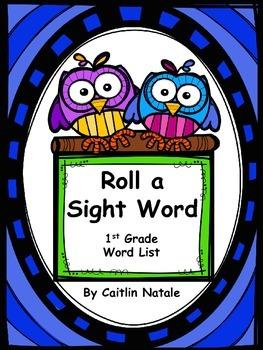 Roll a Sight Word (1st Grade Words)
