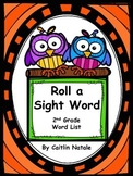 Roll a Sight Word (2nd Grade Words)