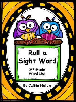 Roll a Sight Word (3rd Grade Words)