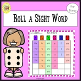 Roll a Sight Word Game for Pre-Primer Dolch Sight Words
