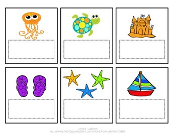 Roll a Sight Word Ocean Literacy Center {Aligned to Common Core}