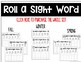 Roll a Sight Word - Winter Set