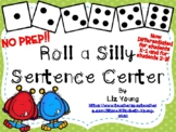 Roll a Silly Sentence Center