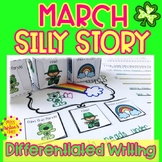 St. Patrick's Day Writing| Differentiated Special Education and Autism Resource