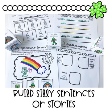 St. Patrick's Day Writing | Differentiated Special Education and Autism Resource