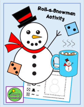 Roll-a-Snowman Activity~Worksheet
