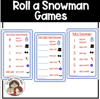 Roll a Snowman Games