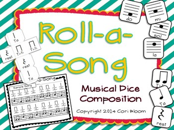 Roll-a-Song Musical Dice Composition: Ta,Ti-ti,Rest//Do, M