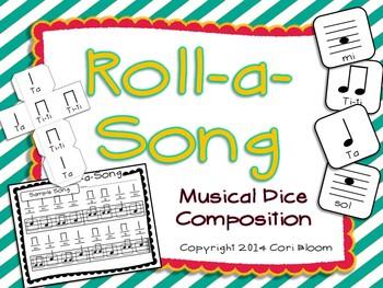 Roll-a-Song Musical Dice Composition: Ta,Ti-ti//Sol, Mi