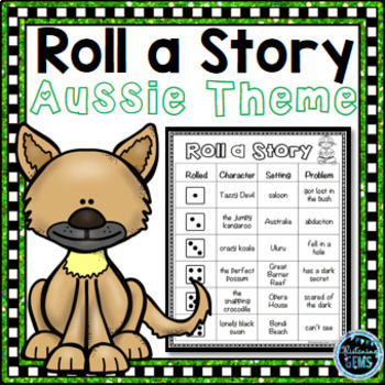 Roll a Story {Aussie Theme}