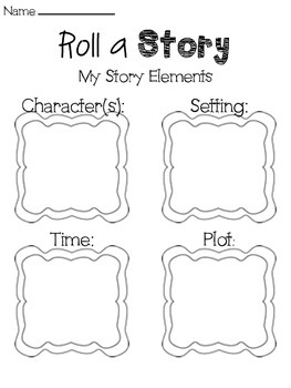 Roll a Story- Creative Writing Activity