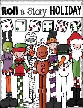 Roll a Story:  Holiday