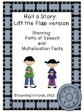Roll a Story: Lift the Flap to Practice Parts of Speech and Basic Math Facts