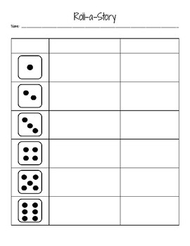 Roll a Story Template