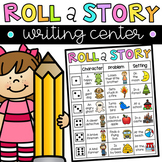 Roll a Story - Writing Center