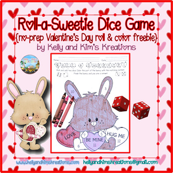 Roll a Sweetie Dice Game