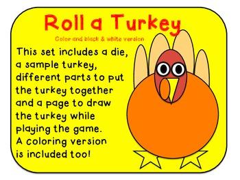 Roll a Turkey- French