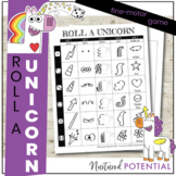 Roll A Unicorn Game! Engaging Fine Motor Activity, K - 5