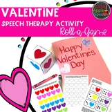 Valentine Speech Therapy Activity