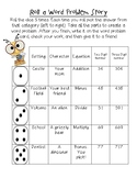 Roll a WORD PROBLEM story