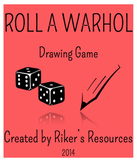 Roll a Warhol Drawing Game