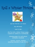 Roll a Winter Picture Game