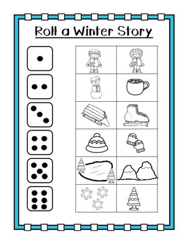 Roll a Winter Story