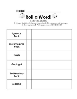 Roll a Word!