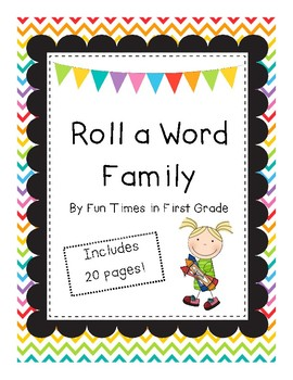 Roll a Word Family