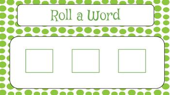 Roll a Word Mats