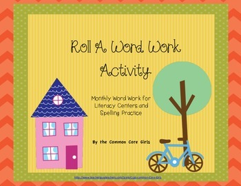 Literacy Centers | Editable Word Work for Second-Fifth Graders~No Prep!