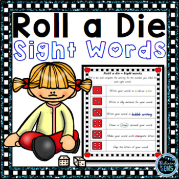 Sight Word Games - Roll a Die