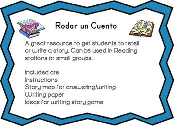 Roll a story  Spanish Rodar un cuento