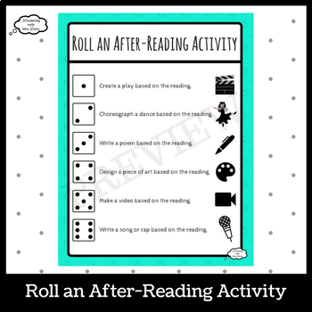 Roll an After-Reading Activity