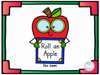 Roll an Apple Drawing Activity