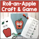 Roll-an-Apple   Apple Craft and Game for Speech Therapy  