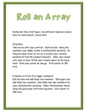 Roll an Array