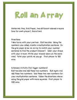 Roll an Array