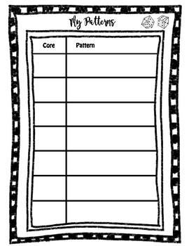 Roll an Attribute Pattern