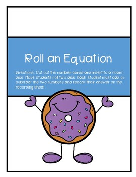 Roll an Equation
