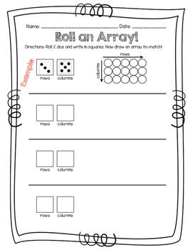 Roll an array!