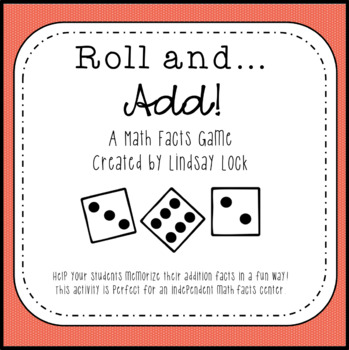 Roll and Add Dice Game