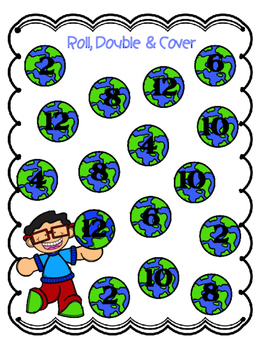 Roll and Add Earth Day