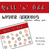 Roll and Add - WINTER edition - Ornaments