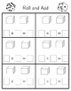 Roll and Add or Subtract Dice Game